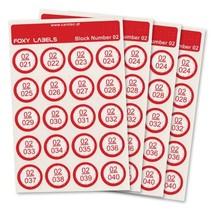 Labels voor Foxyreader 240 stuks