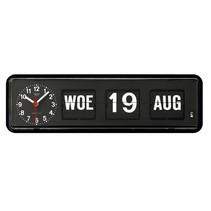 Kalenderklok BQ-38  - ZWART / WIT