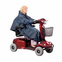 Scooterponcho - gevoerd - lichtgewicht
