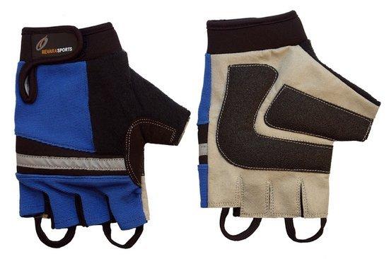 RevaraSports Rolstoel handschoenen Blauw - Verschillende maten