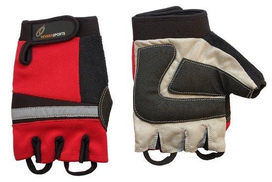 RevaraSports Rolstoel handschoenen Rood - Verscxhillende maten