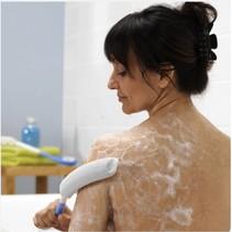 Body care badspons - Recht 38 cm  / Gebogen 79 cm