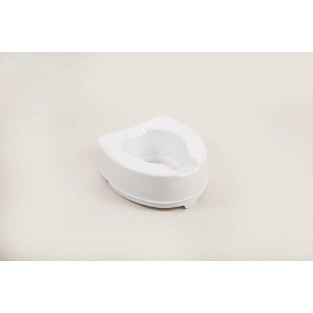 Able2 Toiletverhoger met deksel - 5 /10 / 15 cm