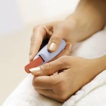 Body Care nagelvijlhouder-  met 3 vijlen