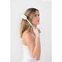Borstel - haarborstel met lange handgreep - 35 cm