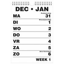 Grootletter kalender  A4 / A5 - 2019