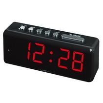 Wekker, met duidelijk LED display