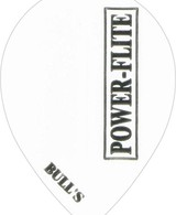 Bull's Powerflite - Pear Solid White
