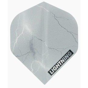 McKicks Metallic Lightning Flight Silver