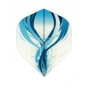 Pentathlon Clear - Blue Swirl