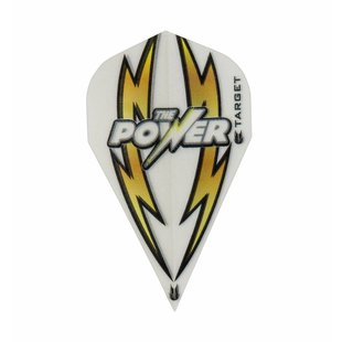 Target Power Arc Bolt White-Gold Vapor