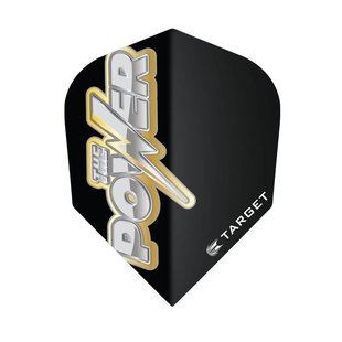 Target Power Bolt Black Gold Flights