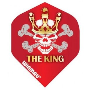 Winmau Standard 'The King' Flight Red