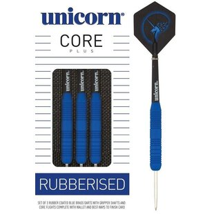 Unicorn Core Plus Rubberised Blue