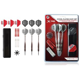 XQMax Nickel Plated Dart Set