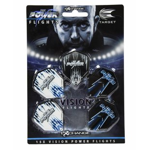 Target Phil Taylor Power Vision Flights 5-Pack