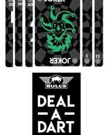 Bull's Deal a Dart card game