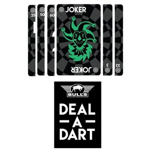 Bull's Deal a Dart card game