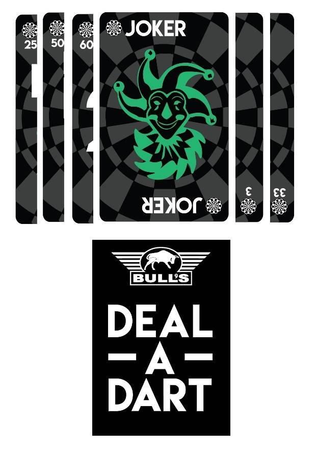 Bull S Deal A Dart Card Game Dartshopper Nl