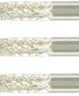 Bull's Steel Dart Grip Points Knurled silver 35mm