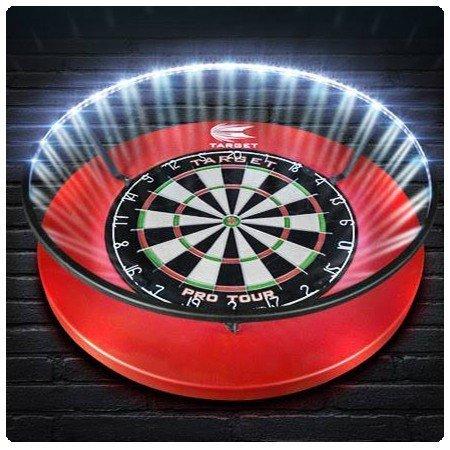 dartbord verlichting