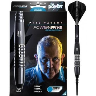 Phil Taylor Power 9FIVE Gen 4 95% Softtip
