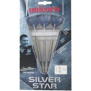unicorn Gary Anderson silverstar 80% softtip tungsten 19 gram