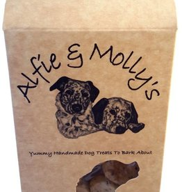 Alfie & Mollys Grain Free Cheese & Apple Bites Dog Treats 150g