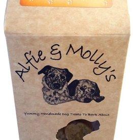 Alfie & Mollys Wheat & Gluten Free Double Cheese Oaties Dog Treats 150g