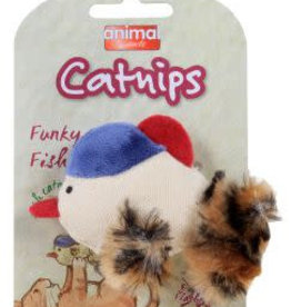 Animal Instincts Catnips Funky Fish Cat Toy with Flashing Lights 8.9cm