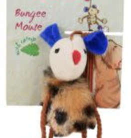 Animal Instincts Catnips Bungee Mouse Cat Toy 7.6cm