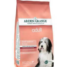 Arden Grange Adult Dog Food, Salmon & Rice