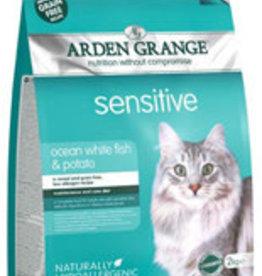 Arden Grange Grain Free Sensitive Cat Food, Ocean White Fish & Potato