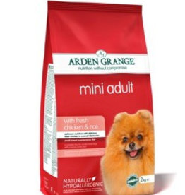 Arden Grange Mini Adult Dog Food, Chicken & Rice