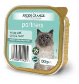 Arden Grange Partners Wet Cat Food Turkey with Duck & Heart 100g