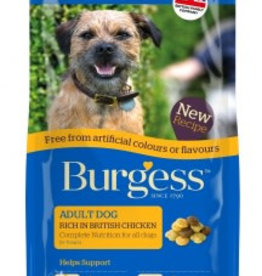 Burgess Free From Adult Dog Food, Chicken
