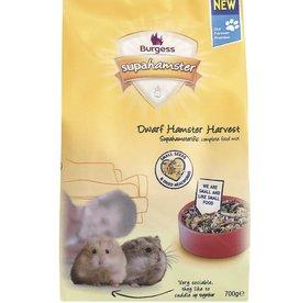 Burgess Supahamster Dwarf Hamster Harvest Food 700g