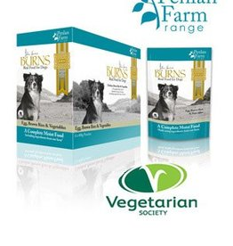 Burns Penlan Farm Dog Food Pouch Complete Egg Brown Rice & Veg 400g