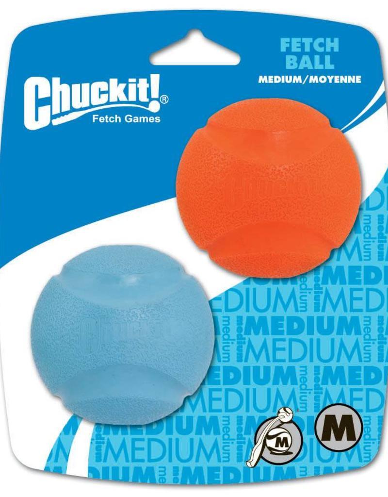 Chuckit Fetch Ball Medium 6.5cm, 2 pack