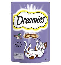 Dreamies Cat Treats Duck 60g