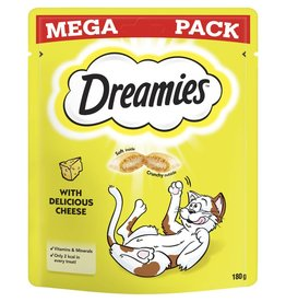 Dreamies Cat Treats Mega Pack Cheese 180g