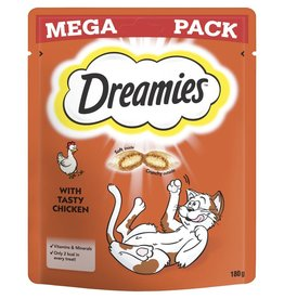 Dreamies Cat Treats Mega Pack Chicken 180g