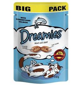 Dreamies Cat Treats Mega Pack Salmon 180g