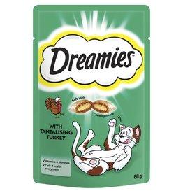 Dreamies Cat Treats Turkey 60g