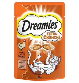Dreamies Extra Crunch with Chicken 60g
