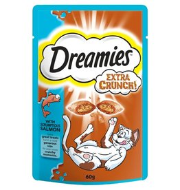 Dreamies Extra Crunch with Salmon 60g