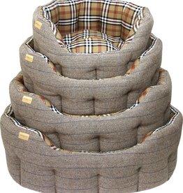 Earthbound Traditional Tweed Bed, Herringbone