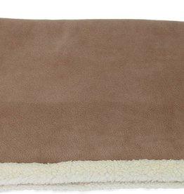 Earthbound Sherpa Pet Blanket, Camel