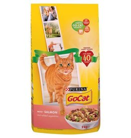 Go-Cat Complete Adult Cat Food Salmon and Vegetables 2kg
