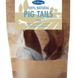 Hollings 100% Natural Pig Tails Dog Treat 120g